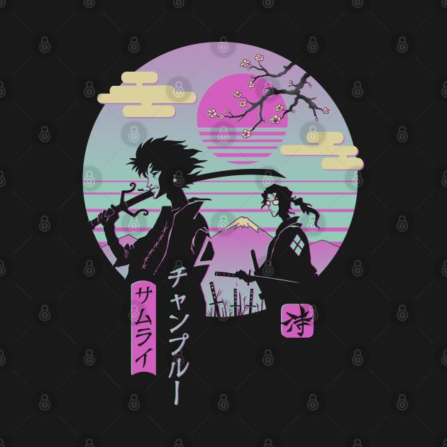 TeePublic: Samurai Chillhop
