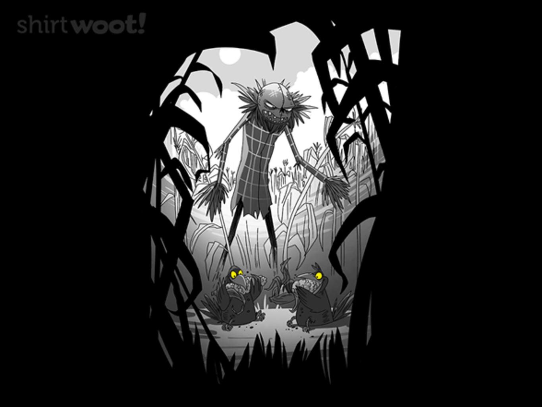 Woot!: Crows Eating Corn