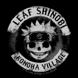 Pop-Up Tee: Leaf Shinobi