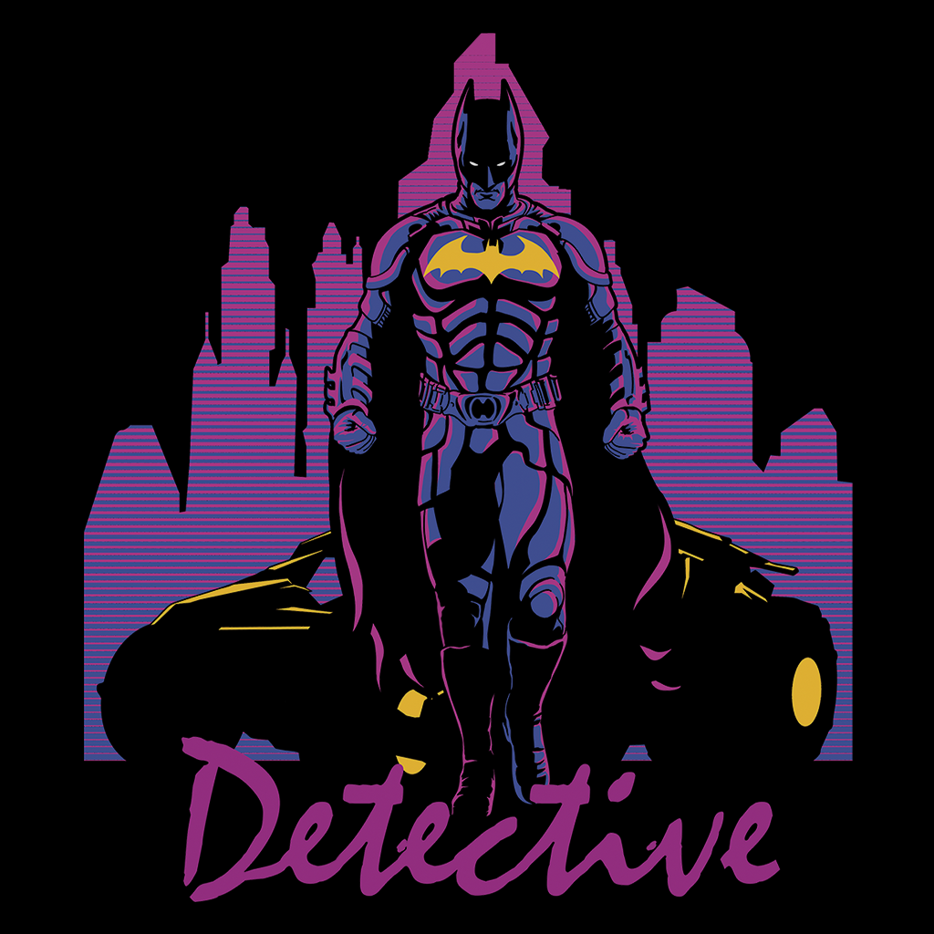Pop-Up Tee: Detective Impression