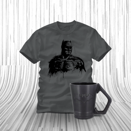 ShirtPunch: Batman in The Morning Bundle