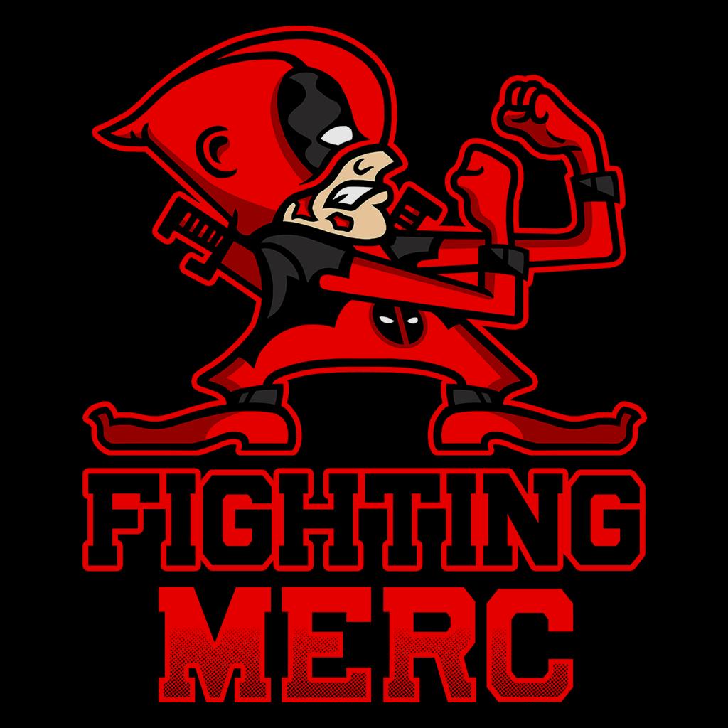 Pop-Up Tee: Fighting Merc