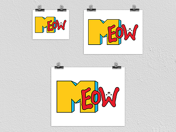Woot!: Meow Poster