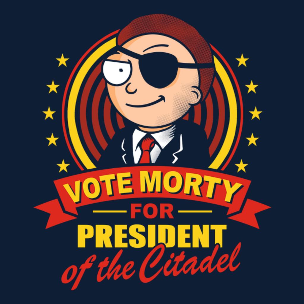 NeatoShop: Vote Morty