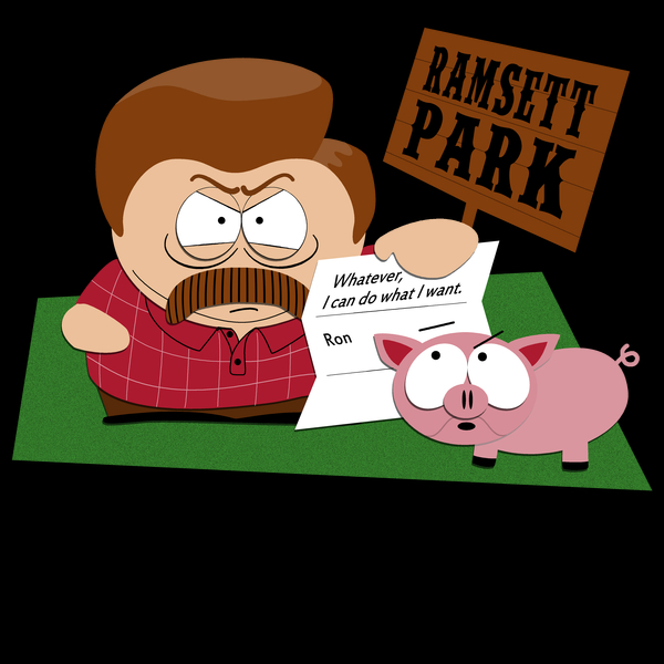 NeatoShop: South Parks and Rec