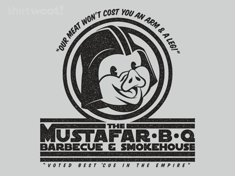 Woot!: Mustafar-B-Q - $15.00 + Free shipping