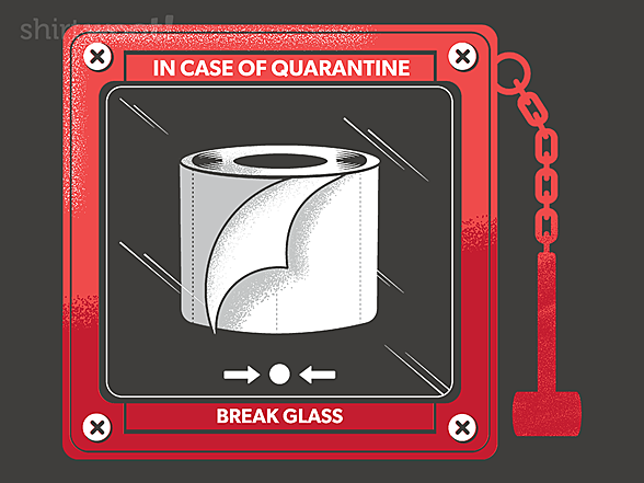 Woot!: In Case of Quarantine, Bring the Toilet Paper