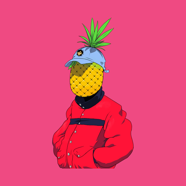 TeePublic: Pineapple Head