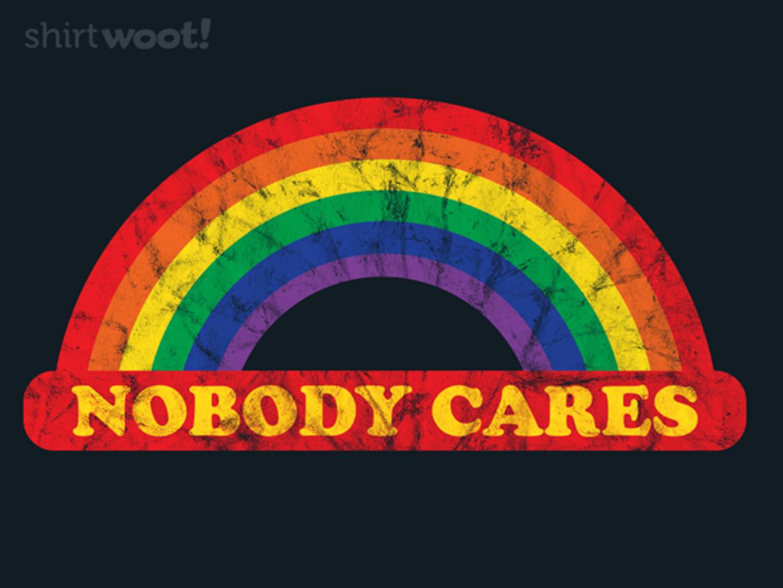 Woot!: Nobody Cares!