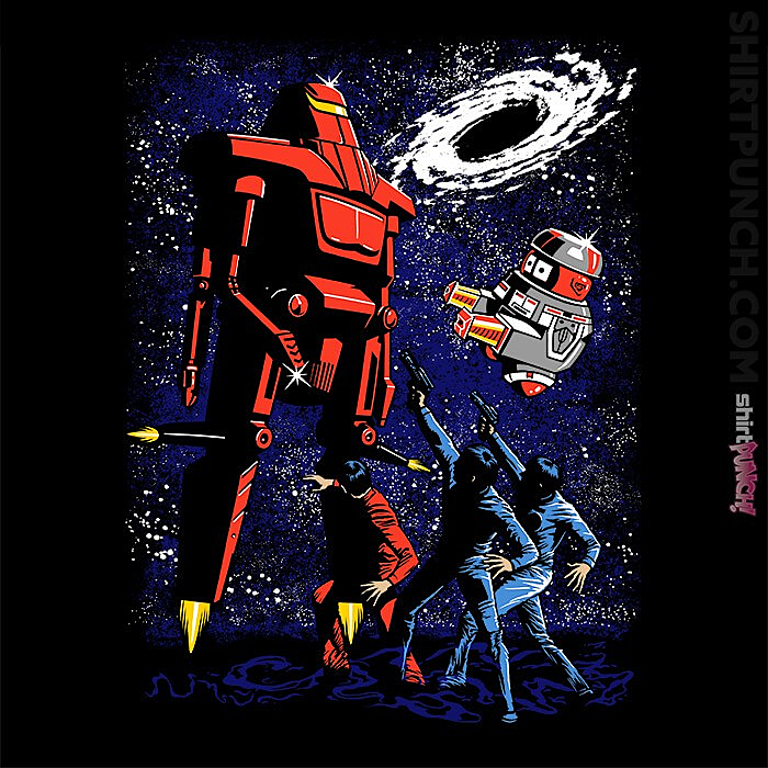 ShirtPunch: Killer Space Robot