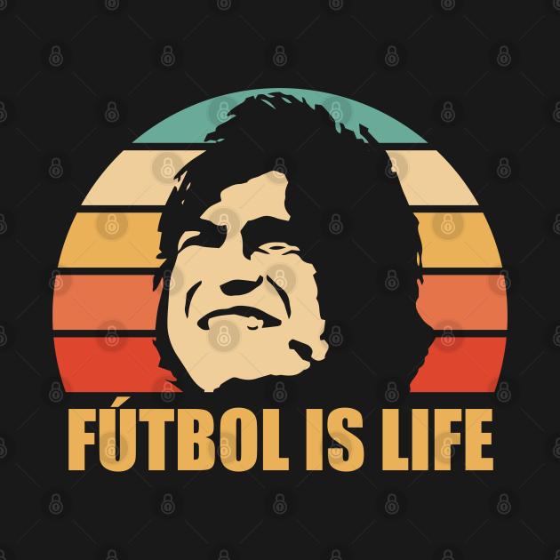 TeePublic: FUTBOL IS LIFE