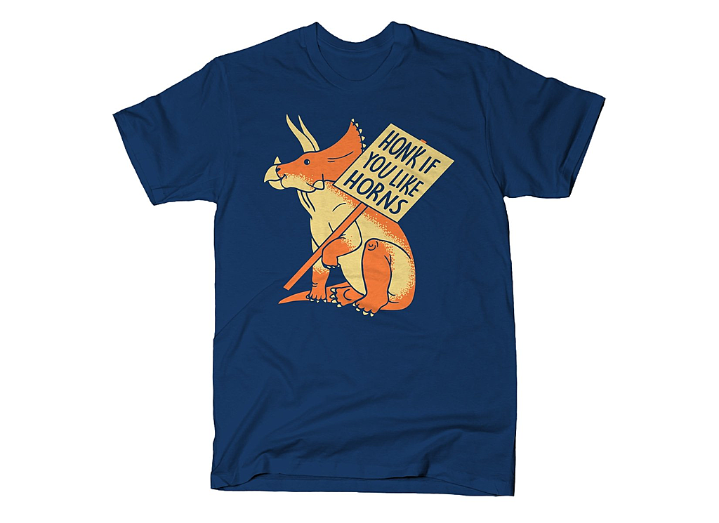 SnorgTees: Honk If You Like Horns