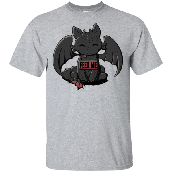 Pop-Up Tee: Toothless Feed Me