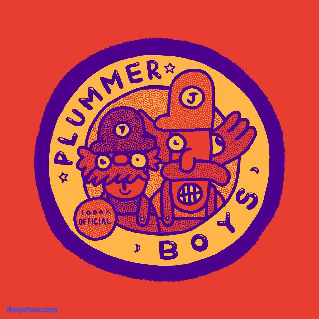 The Yetee: Plummer Boys 1000% Official