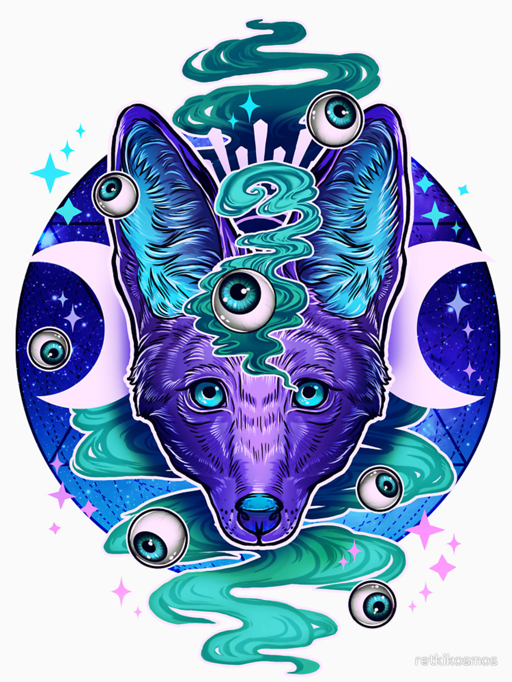 RedBubble: Jackal Eyes