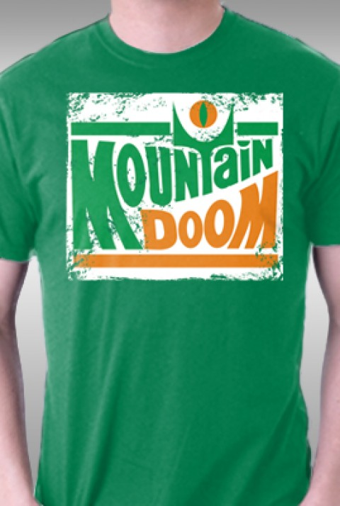 TeeFury: Mountain Doom