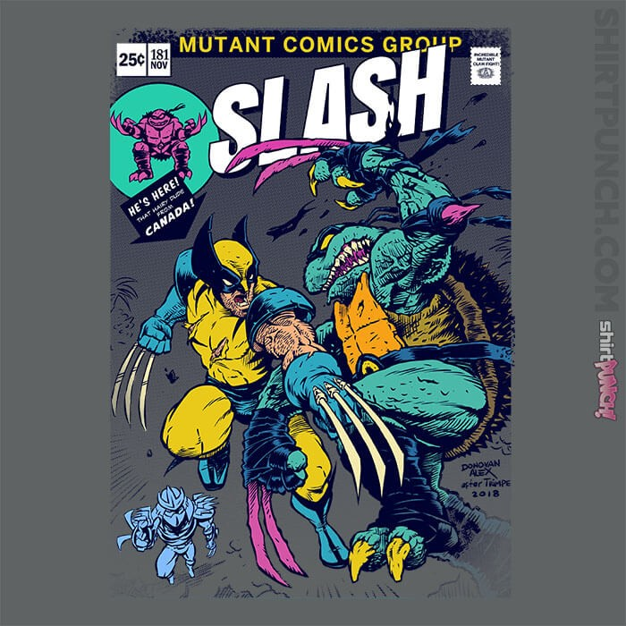 ShirtPunch: Wolverine VS Slash