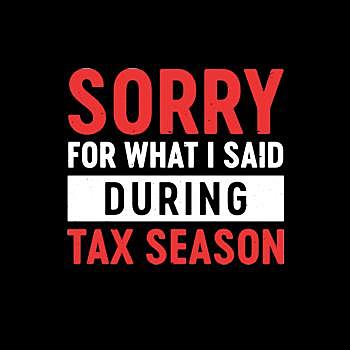 BustedTees: Tax Season