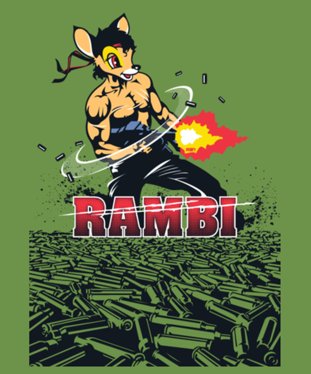 Qwertee: Rambi