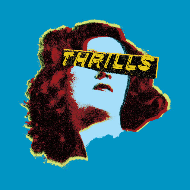 TeePublic: Thrill Girl