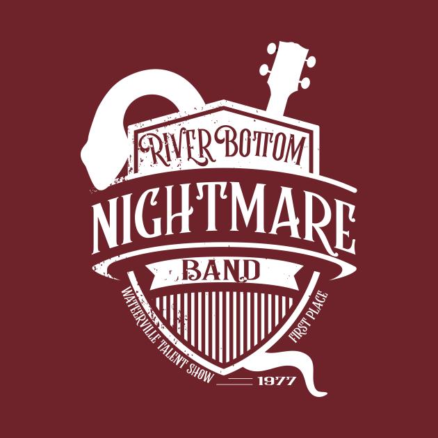 TeePublic: Riverbottom Nightmare Band Emmet Otter