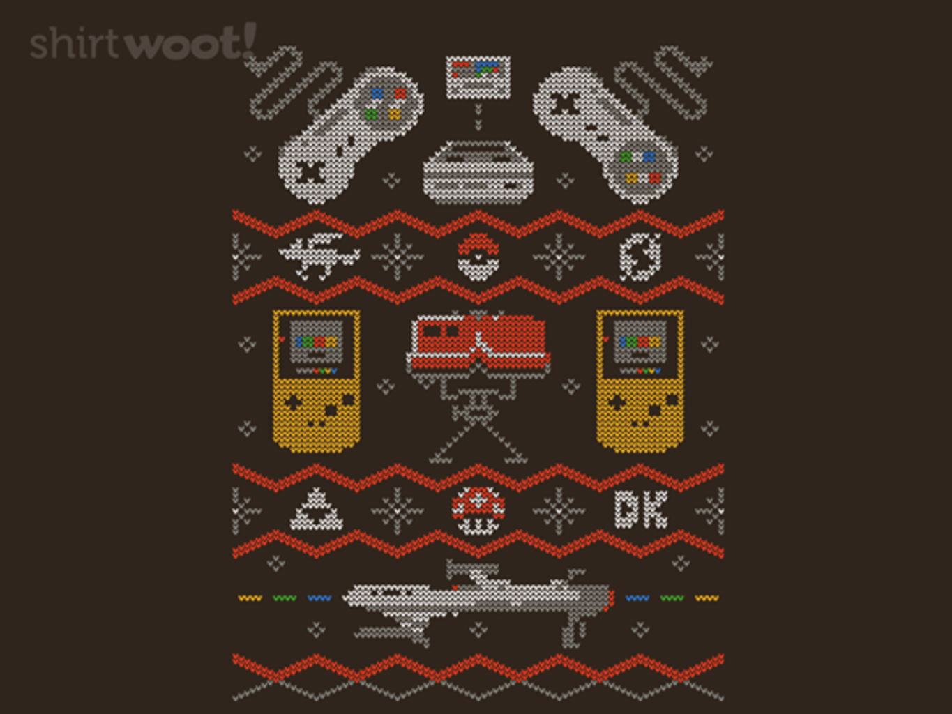 Woot!: Super Ugly Gaming Sweater