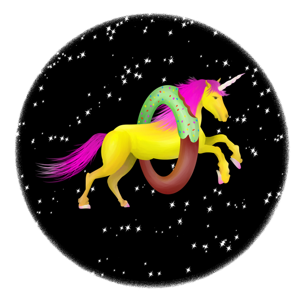 NeatoShop: Unicorn Doughnut