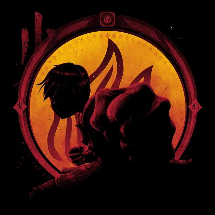 Once Upon a Tee: Into the Fire