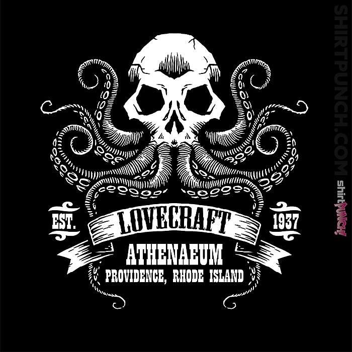 ShirtPunch: Lovecraft Athenaeum