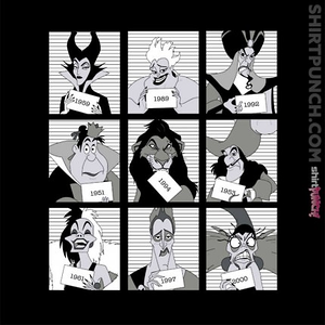 ShirtPunch: Villains Jail