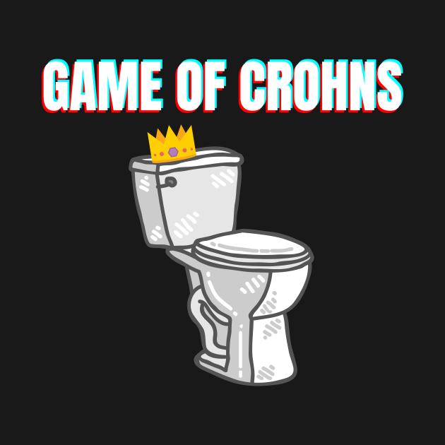 TeePublic: Game of crohns