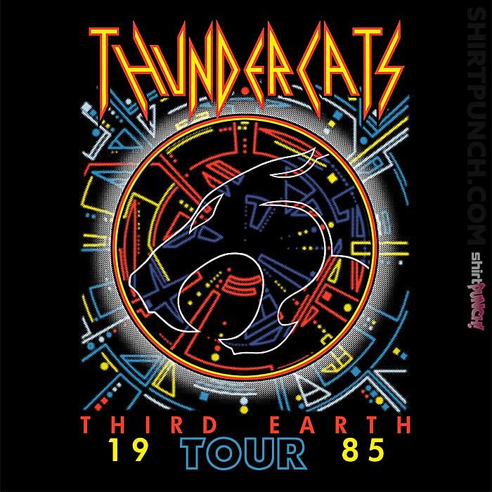 ShirtPunch: Thundercats Third Earth Tour