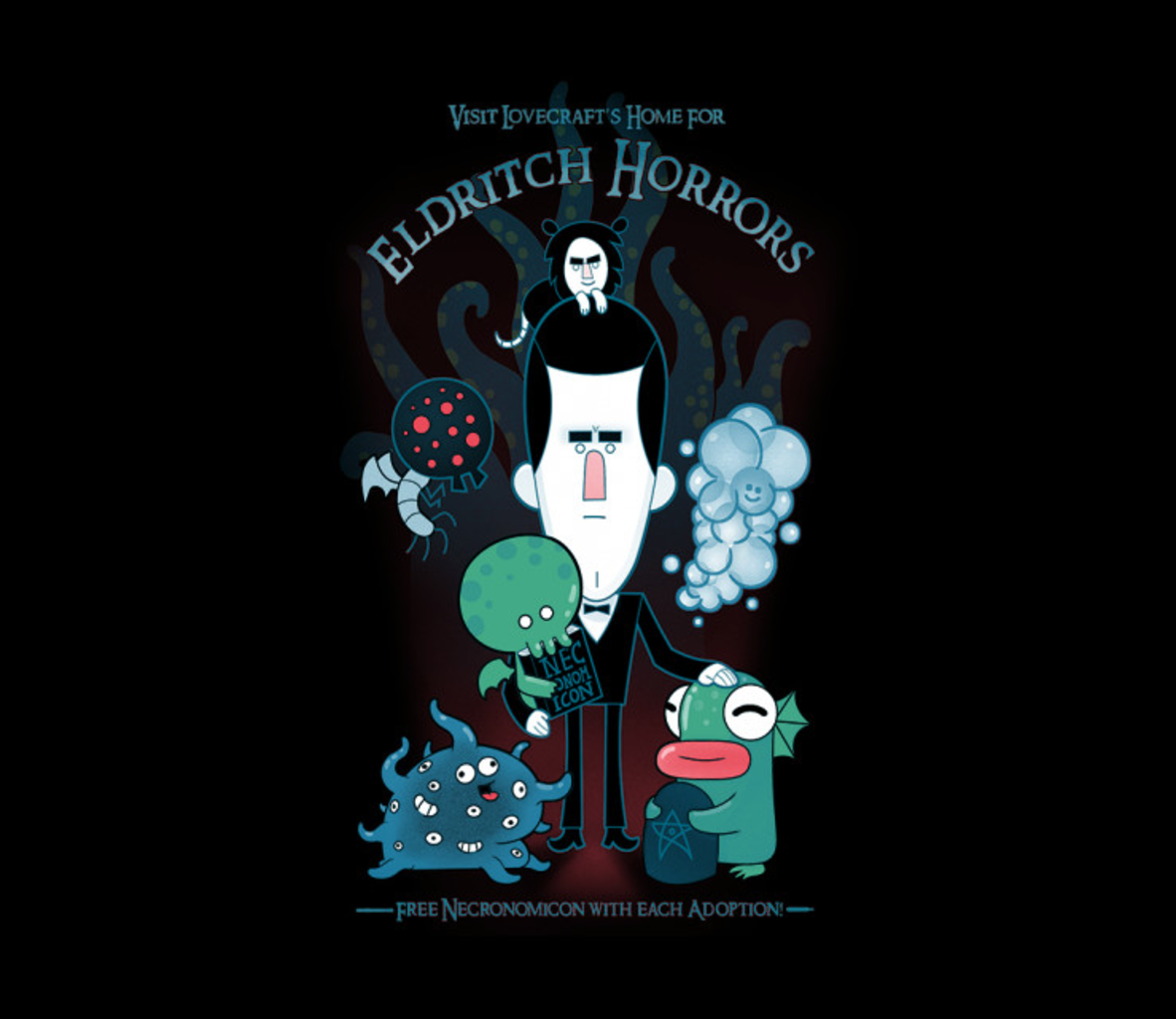 TeeFury: Lovecraft's Unspeakable Home