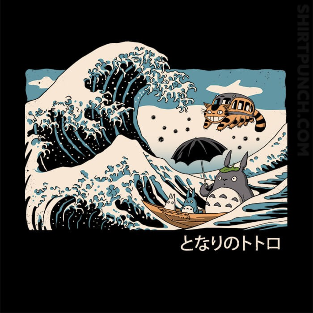 ShirtPunch: The Great Wave Of Spirits