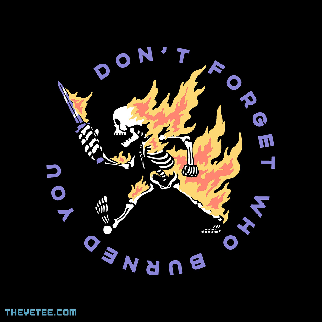 The Yetee: Don't Forget