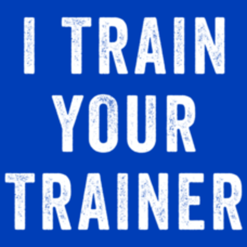 Textual Tees: I Train Your Trainer