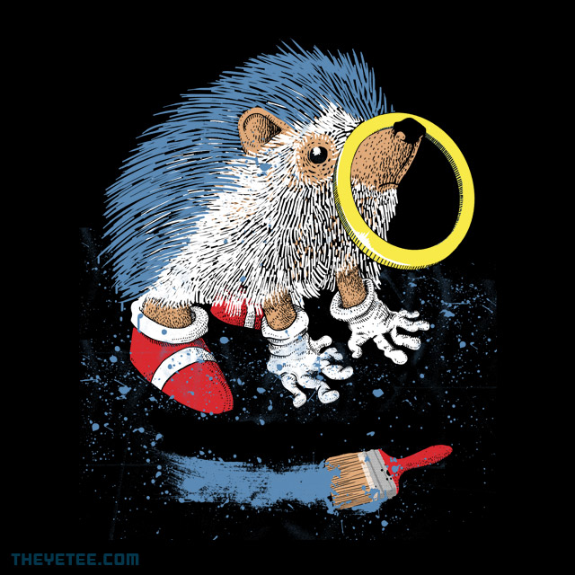 The Yetee: He wants to be the fastest one