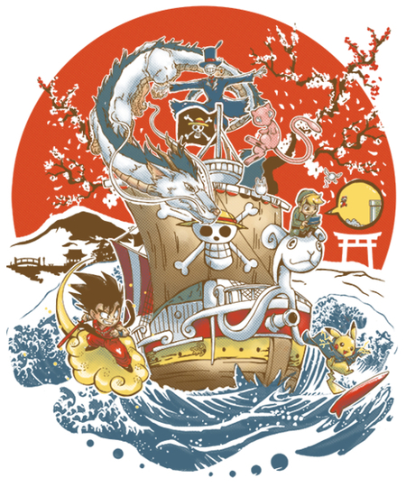 Qwertee: Japanese World