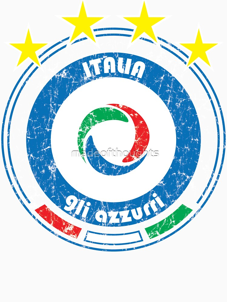 RedBubble: World Cup Football 2/8 - Team Italia (distressed)