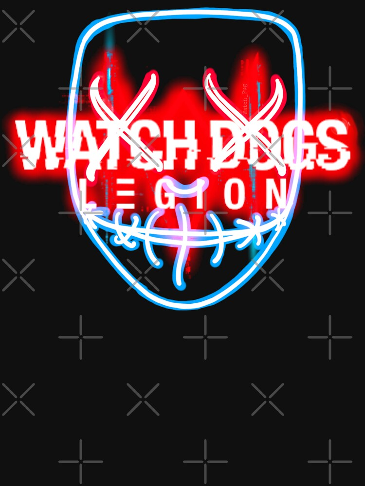 RedBubble: Watchdogs Legion - Glow Mask
