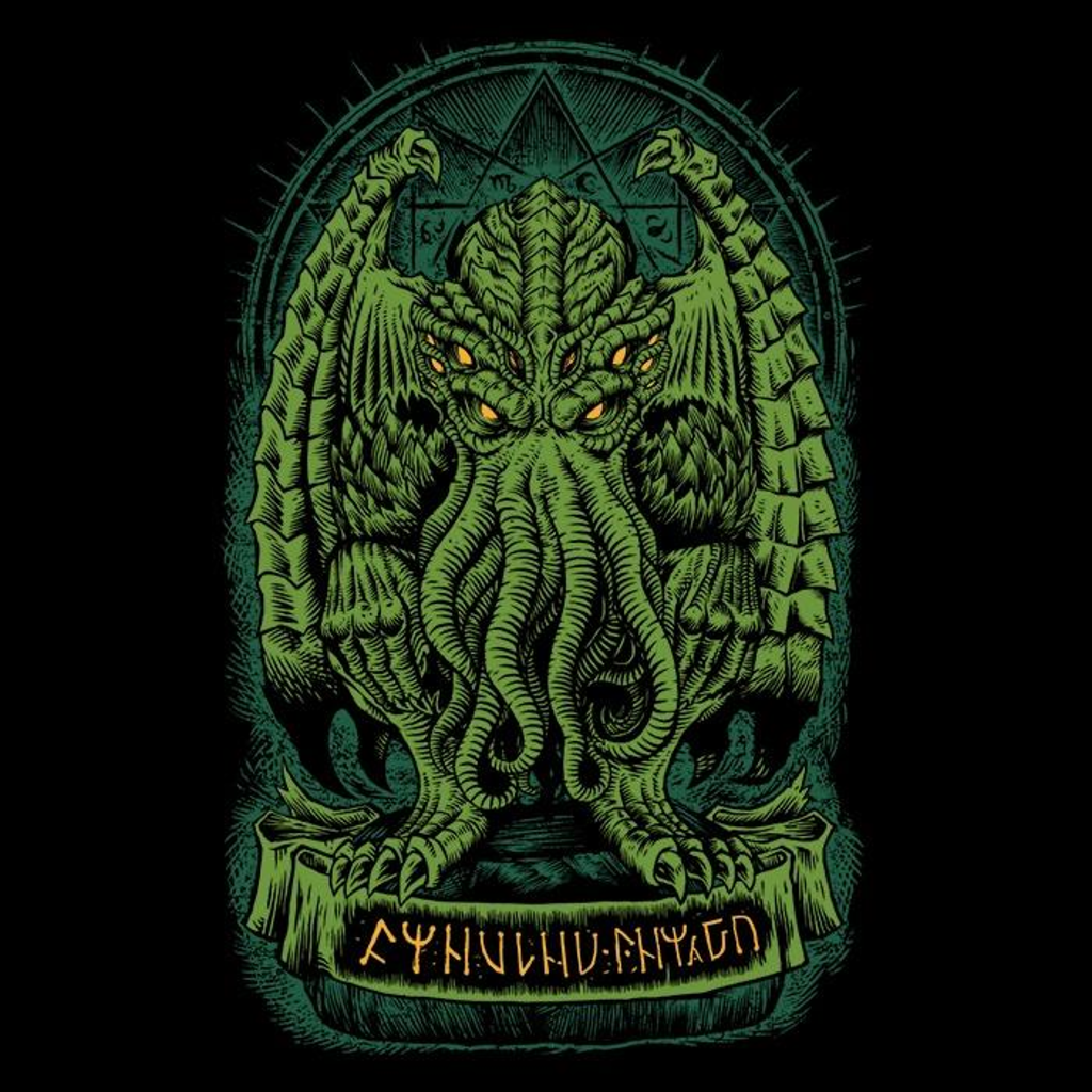Once Upon a Tee: The Sleeper of R'lyeh