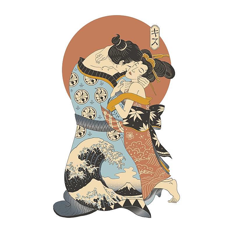 Pampling: The Kiss Ukiyo-e