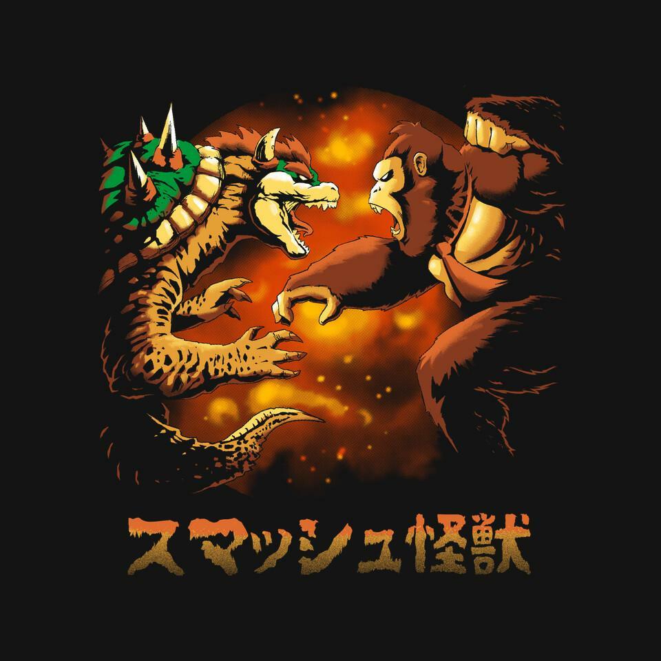 TeeFury: Smash Kaiju