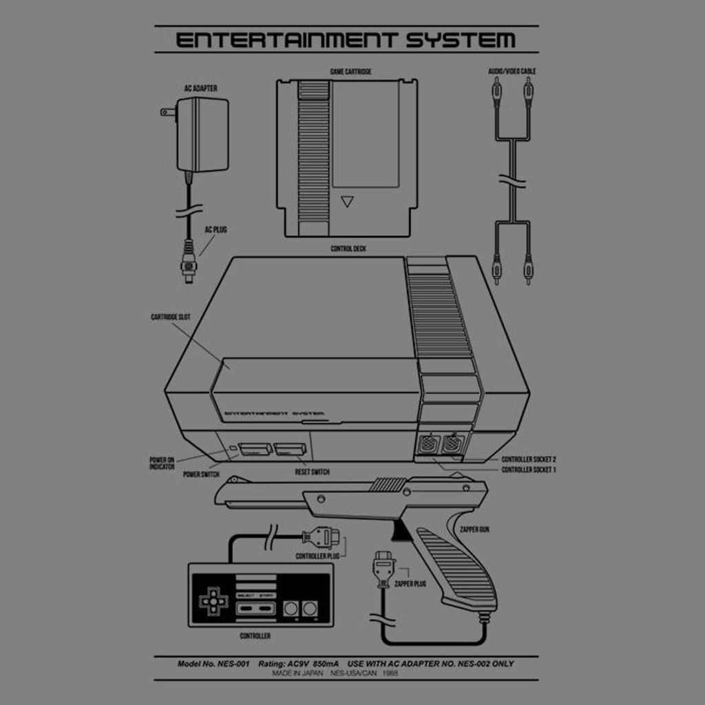 Once Upon a Tee: Entertainment System (Alt)
