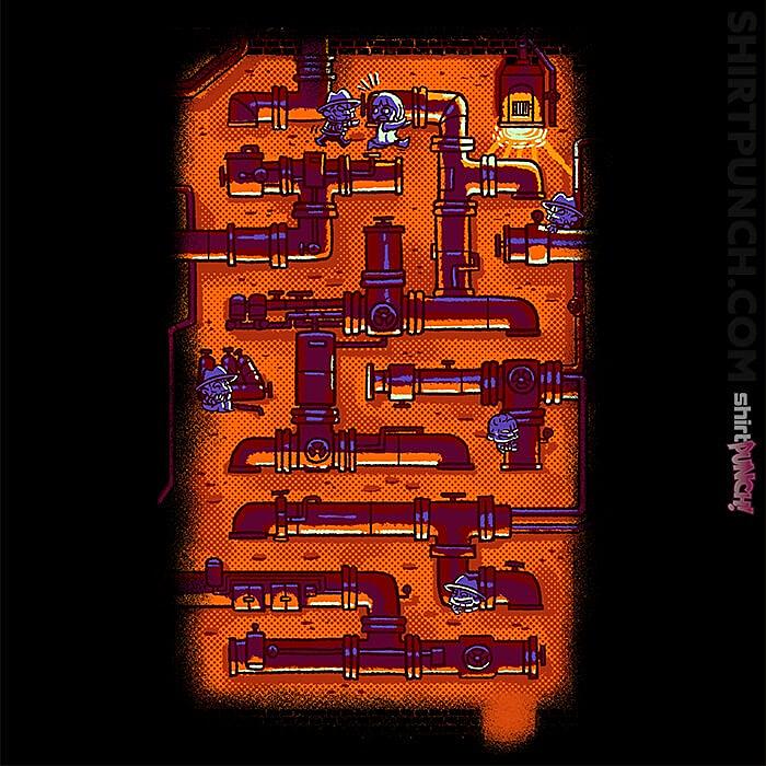 ShirtPunch: Elm Street Maze
