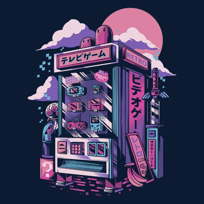 Once Upon a Tee: Retro Gaming Machine