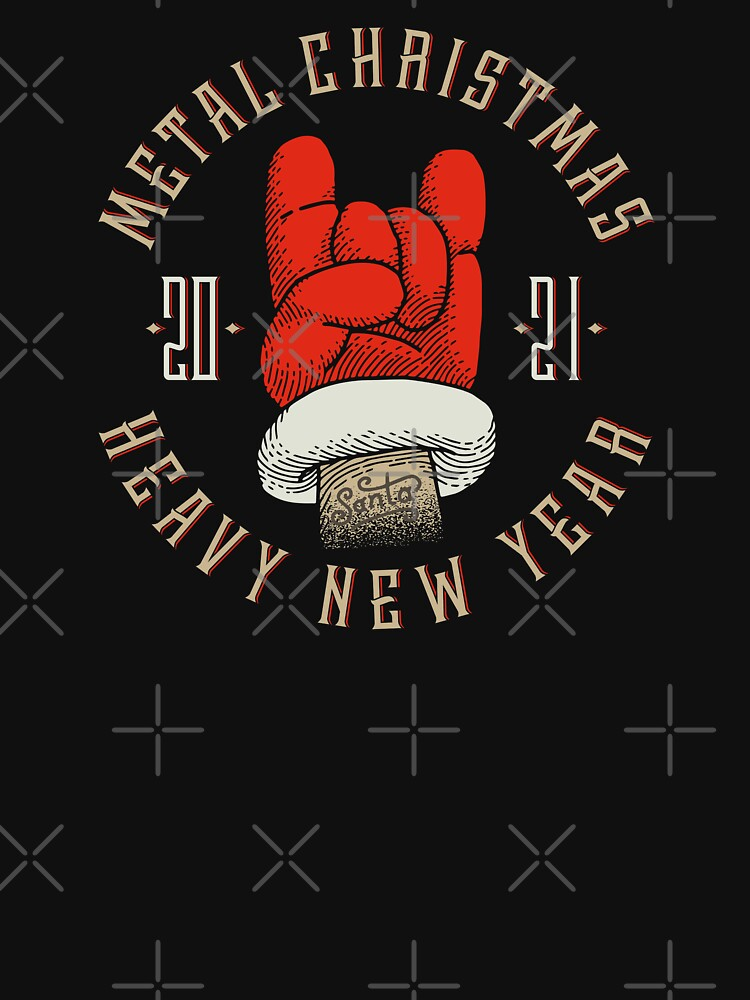 RedBubble: Metal Christmas - Heavy New Year