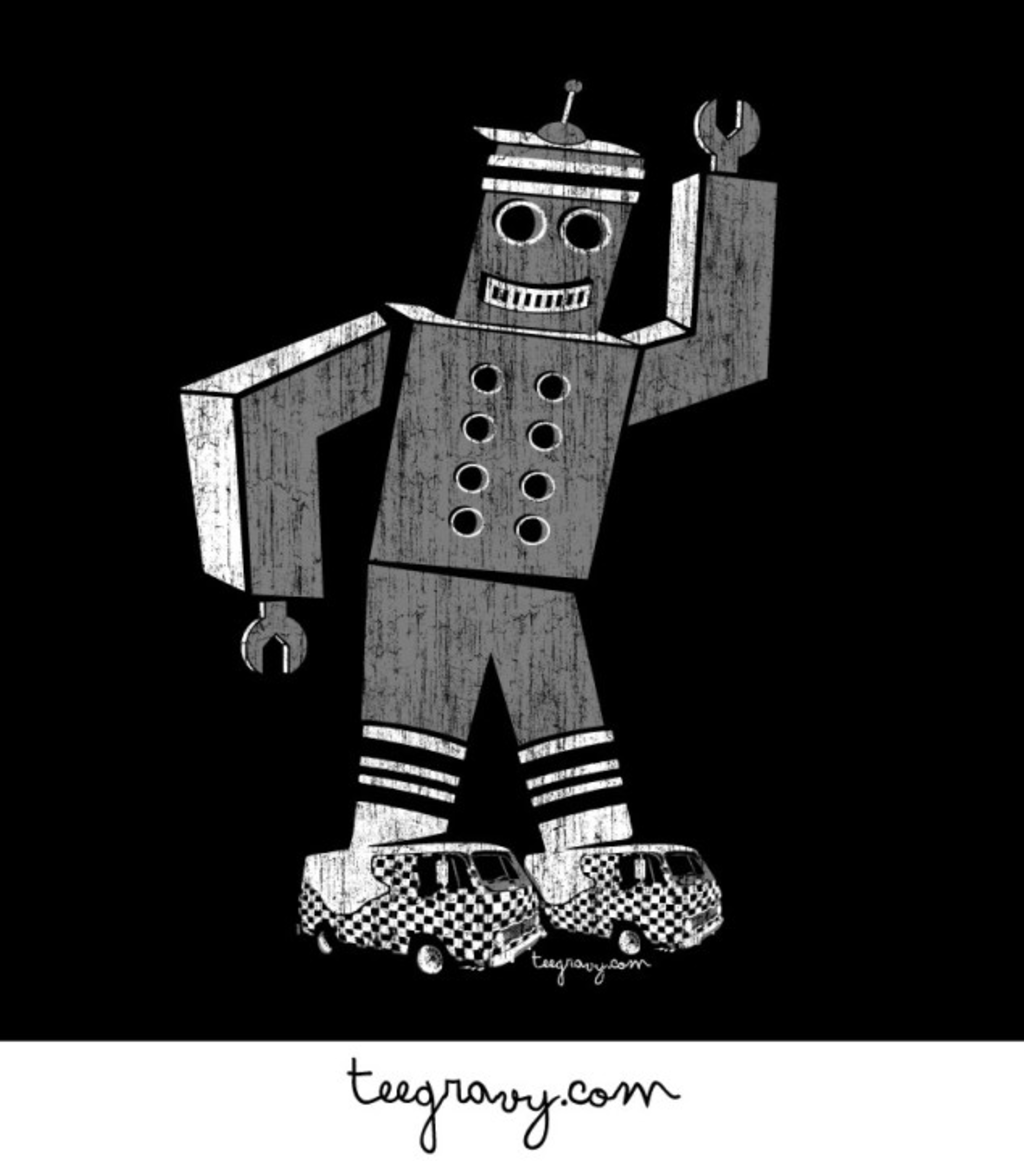 Tee Gravy: Fast Times at Robot High
