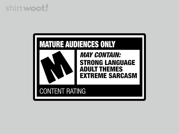 Woot!: Rated M