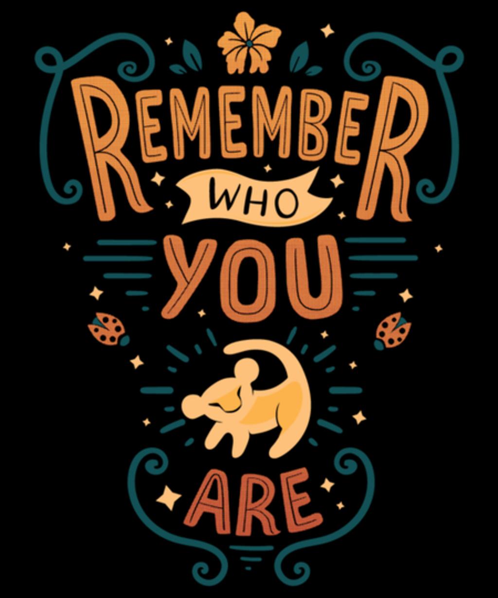 Qwertee: Remember